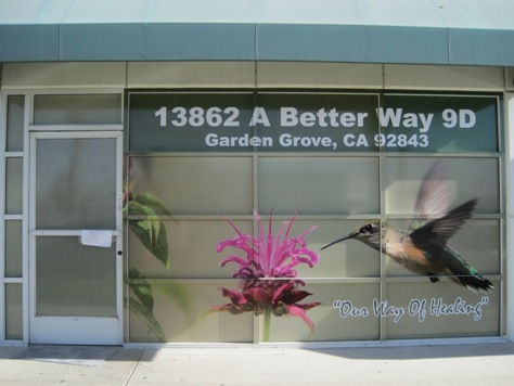 OC Retail Window Wraps Mall Wraps Plaza Signs